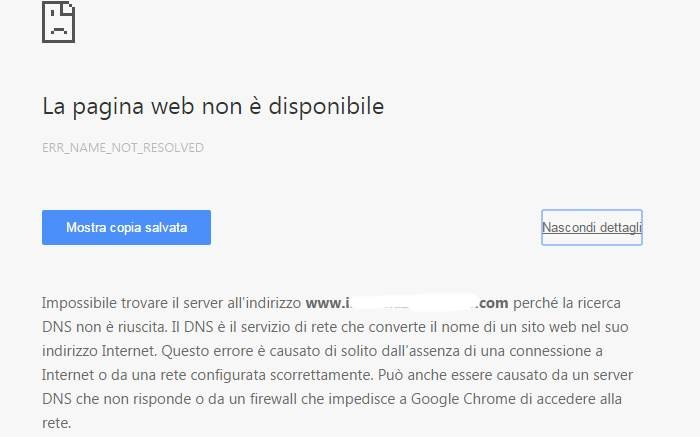 pagina-web-non-disponibile-errore